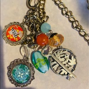 Plunder 17 inch Charm Necklace